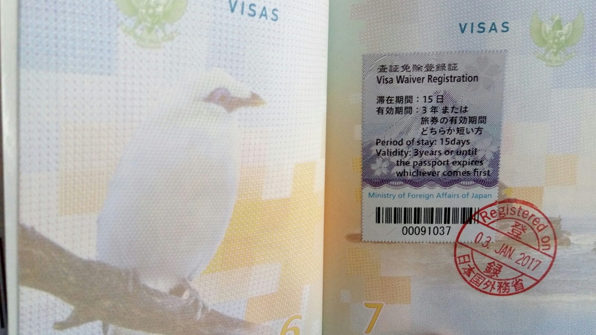 Mudahnya Mengurus VISA Waiver Negara Jepang