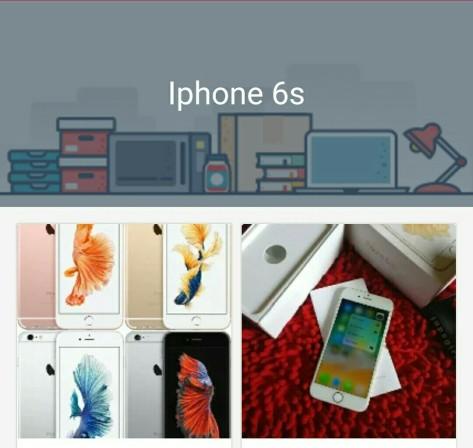 jual iphone 6s