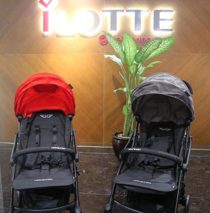 Hamilton Ezze Series Premium Stroller
