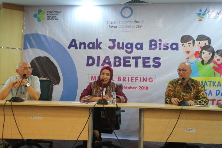 narasumber anak juga bisa diabetes