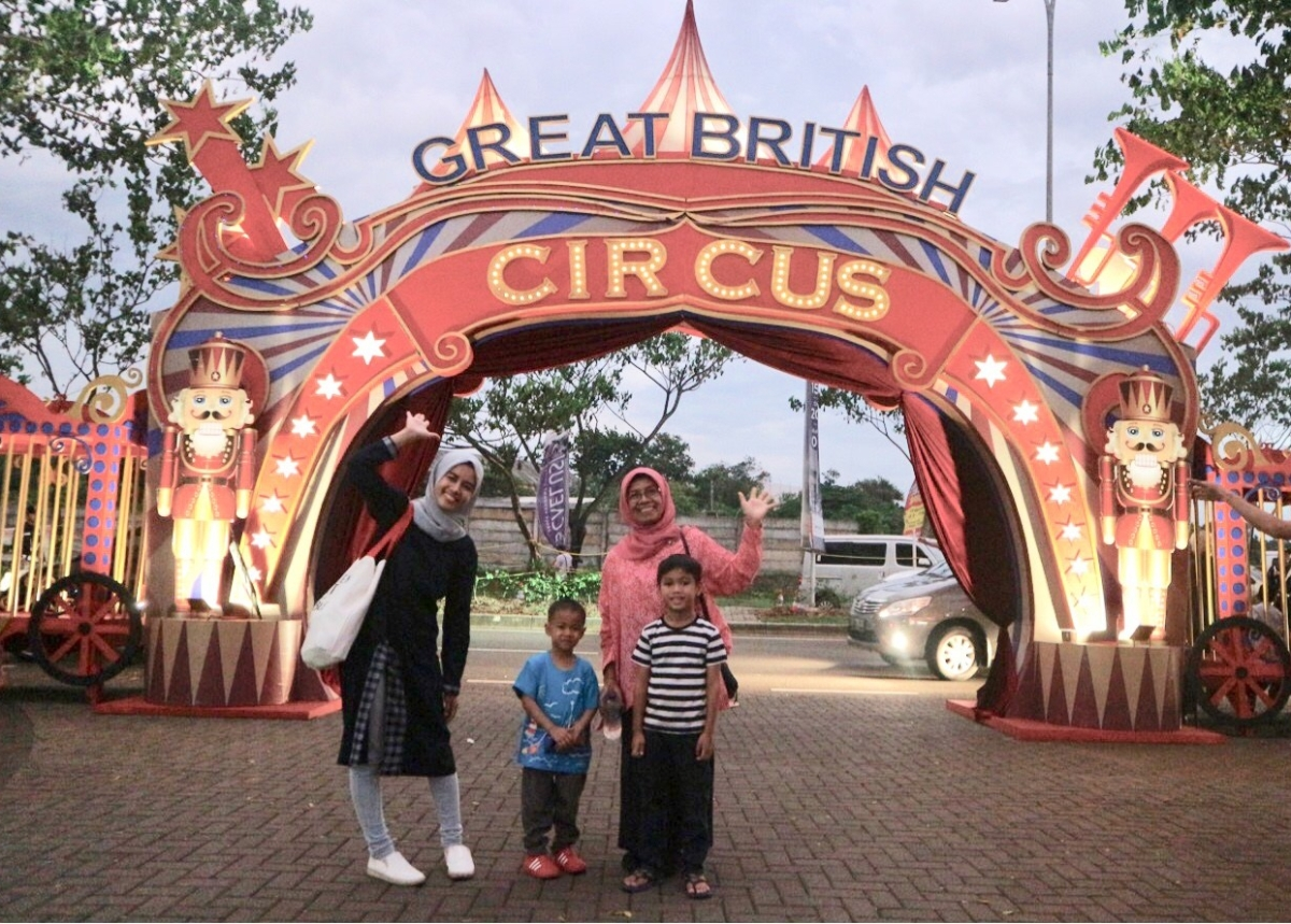 The Great British Circus at BSD City