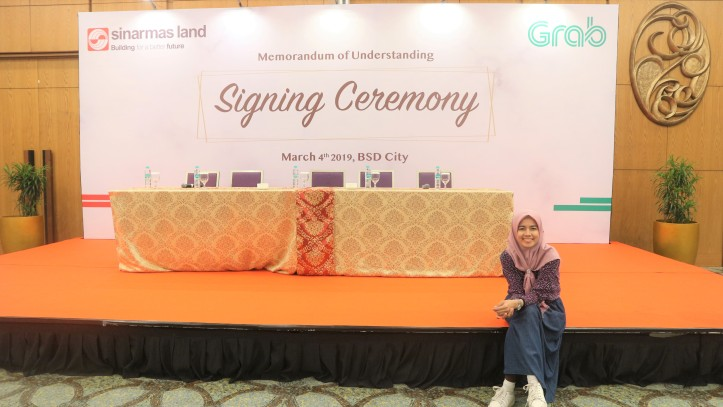 MOU SIGNING CEREMONY SINAR MAD LAND DAN GRAB